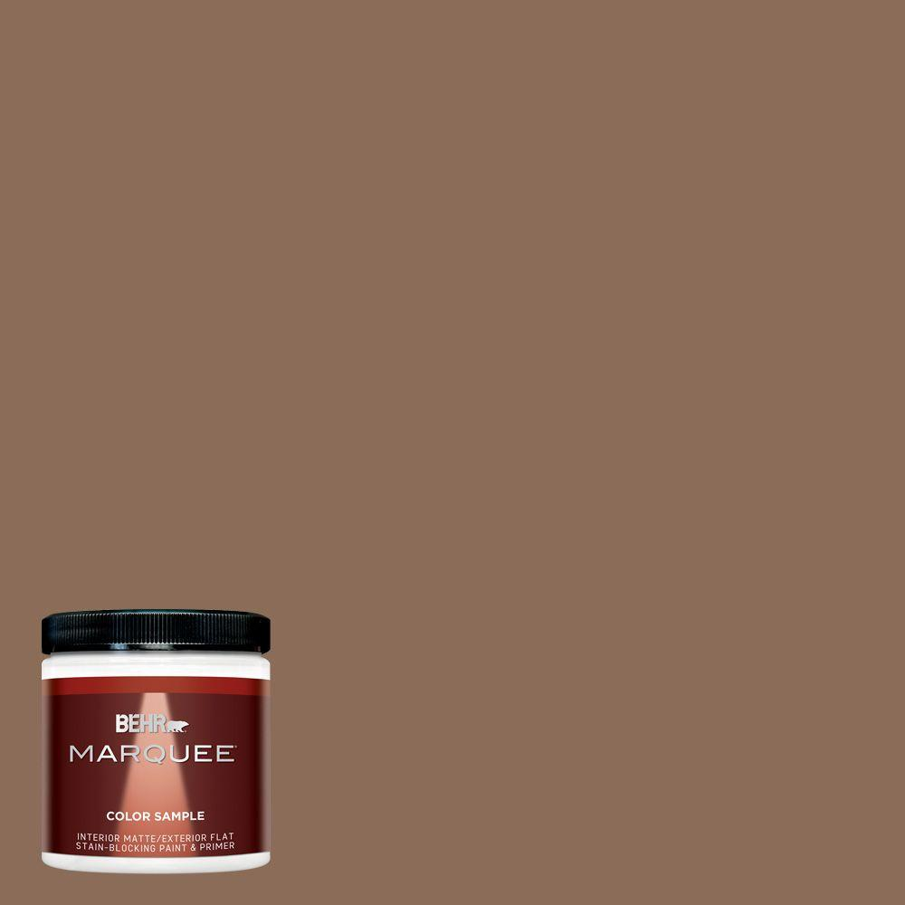 8 oz. #MQ2-43 Antiquities Matte Interior/Exterior Paint and Primer Sample