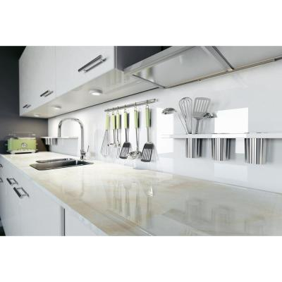 4 in. Ultra Compact Surface Countertop Take Home Sample in Fiord