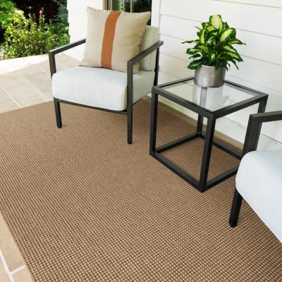 Diedra Cedar 10 ft. x 14 ft. Solid Indoor/Outdoor Area Rug
