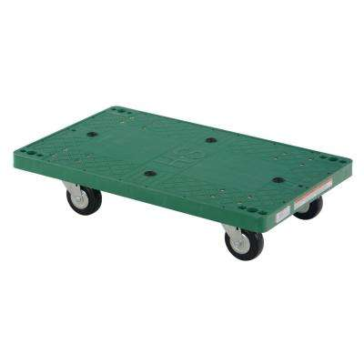 500 lb. Capacity 30 in. x 18 in. Plastic Dolly
