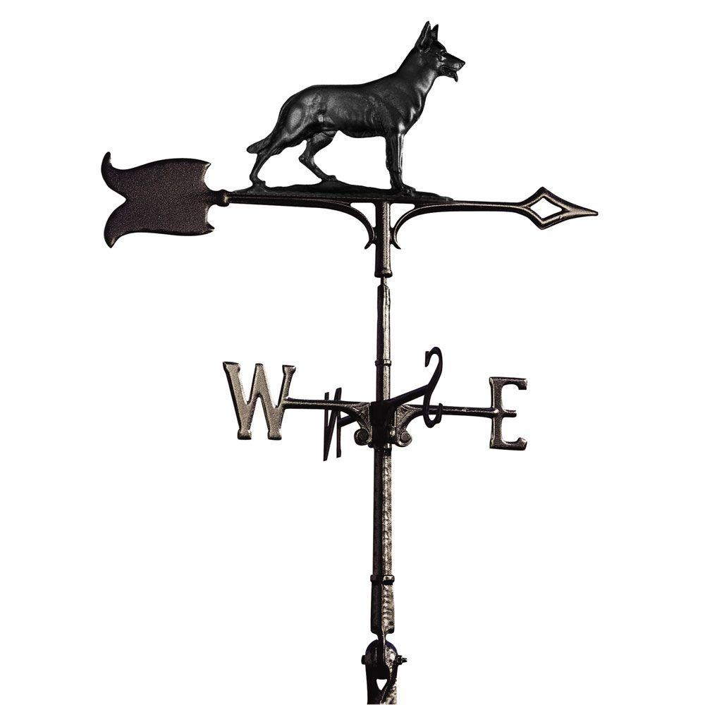 Whitehall Products 30 in. German Shepherd Weathervane