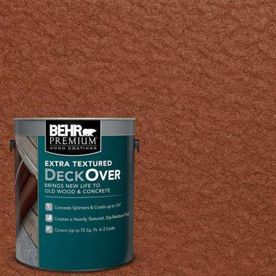 1 gal. #SC-142 Cappuccino Extra Textured Wood and Concrete Coating