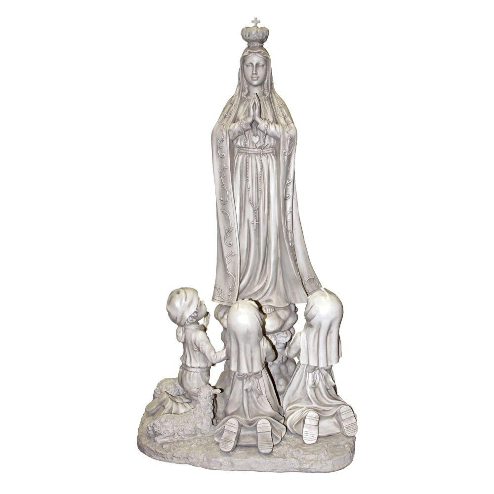 Design Toscano 58.5 in. Our Lady of Fatima Statue-DISCONTINUED