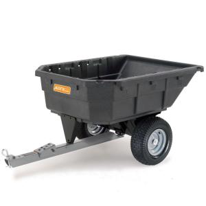 AllFitHD 12.5 cu. ft. 1000 lb. Capacity Poly Swivel Dump Cart by AllFitHD