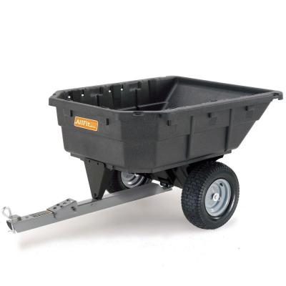 12.5 cu. ft. 1000 lb. Capacity Poly Swivel Dump Cart