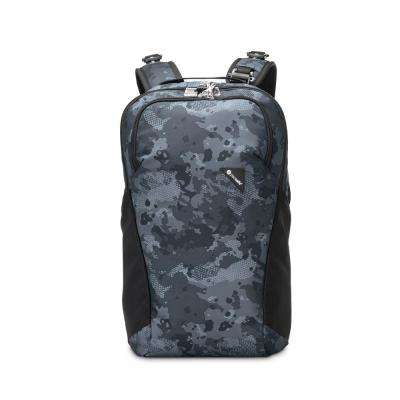 Vibe 18 in. Grey Camo Backpack with Laptop Compartment
