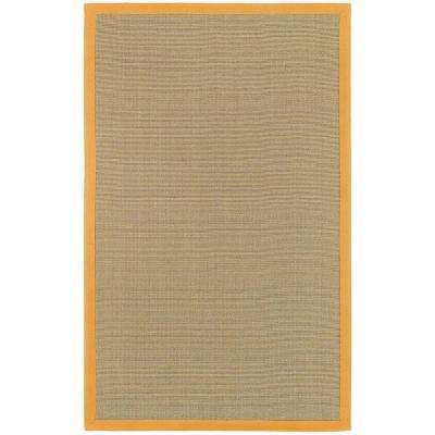Bay Tan/Orange 8 ft. x 10 ft. Indoor Area Rug