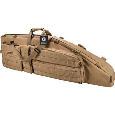 Loaded Gear RX-600 46 in. Hunting 2-Rife Tactical Carrying Bag in Dark Earth