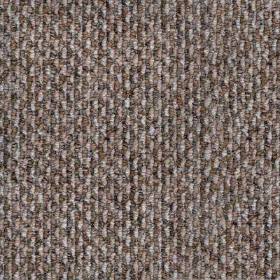 Carpet Sample-Corkwood -Color Taos Loop 8 in. x 8 in.