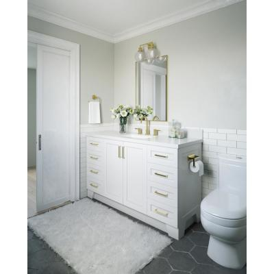 Taylor 60 in. W Vanity Cabinet Only in White