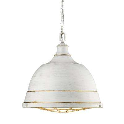 Bartlett 2-Light French White Pendant