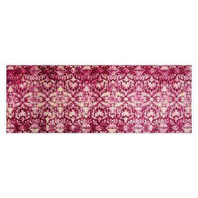 In-Home Washable/Non-Slip Muted Pink 2 ft. 3 in. x 6 ft. 3 in. Runner Rug