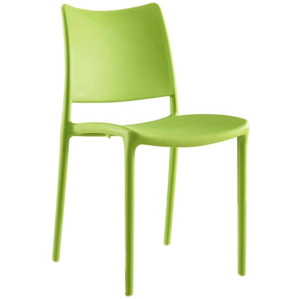 MODWAY Hipster Green Dining Side Chair EEI-1703-GRN
