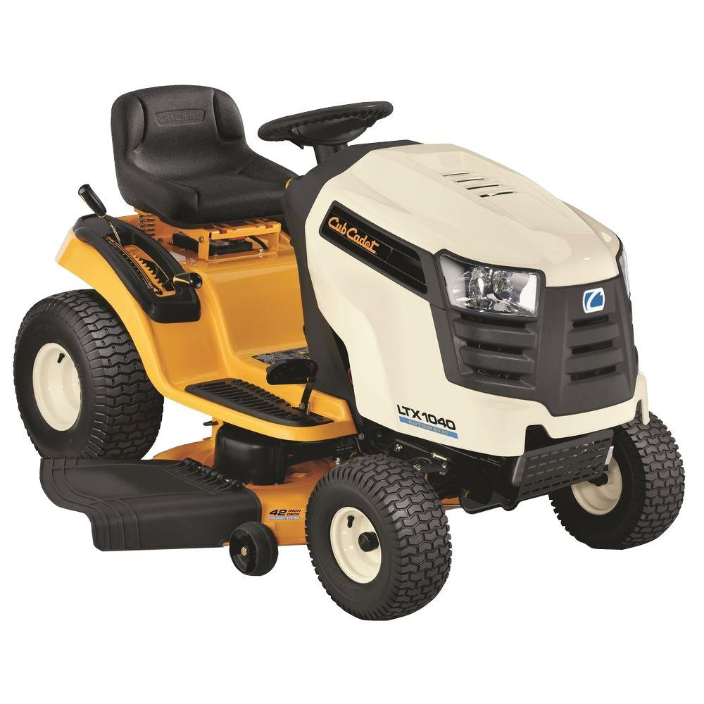 Cub Cadet LTX1040 42 in. 19-HP Automatic Drive Front-Engine Riding Mower-DISCONTINUED
