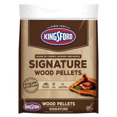20 lbs. Signature Blend of Cherry, Hickory and Maple Wood Grilling Pellets