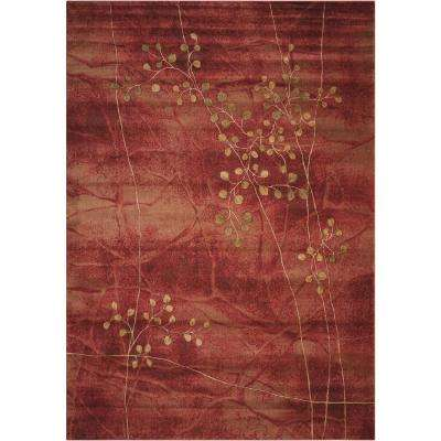 Somerset Flame 5 ft. x 7 ft. Area Rug