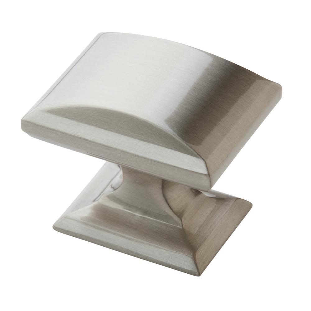 Candler 1-1/4 in (32 mm) Length Satin Nickel Cabinet Knob