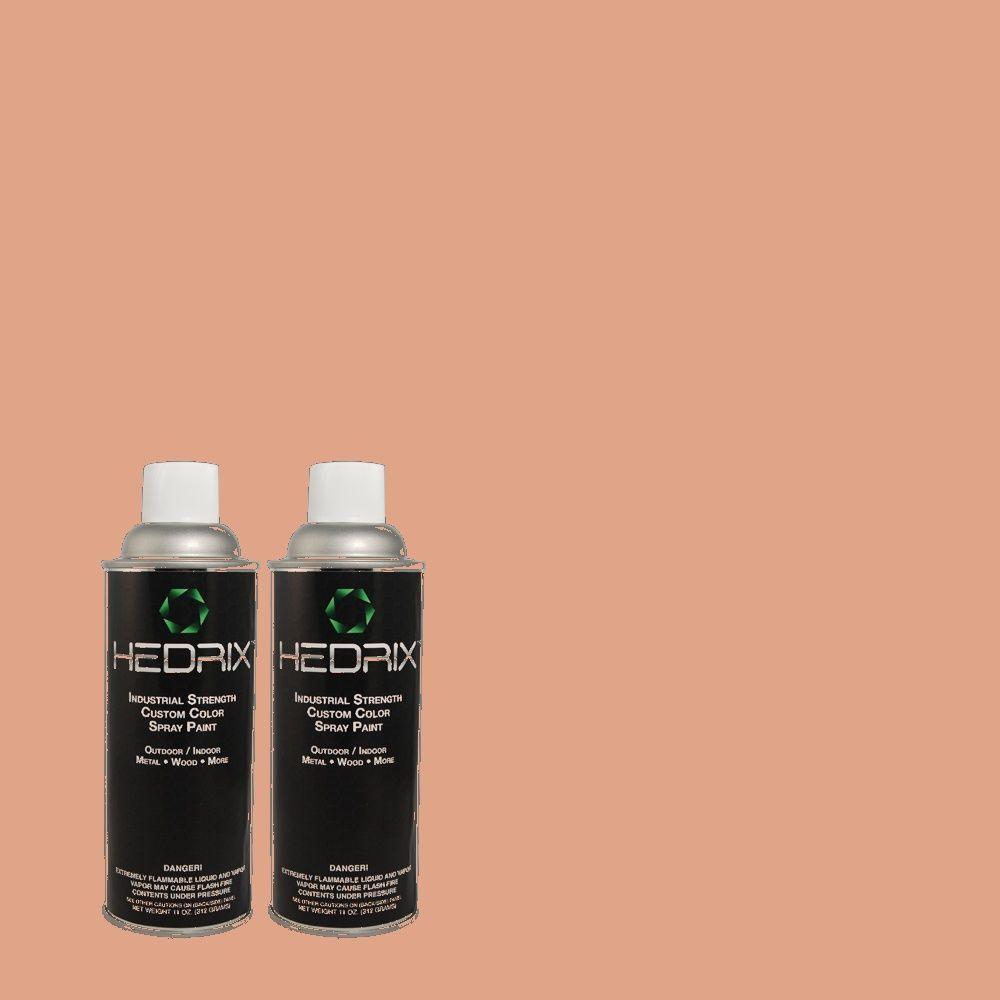 Hedrix 11 oz. Match of PPOC-36 Scrapbook Gloss Custom Spray Paint (2-Pack)