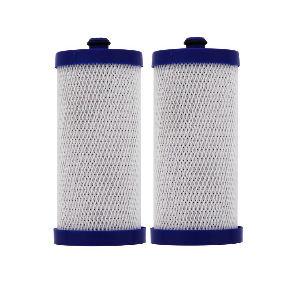 AquaFresh WF284 Frigidaire WFCB/WF1CB Comparable Refrigerator Water Filter (2-Pack)