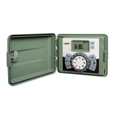 6-Station Easy-Set Logic Indoor/Outdoor Sprinkler Timer