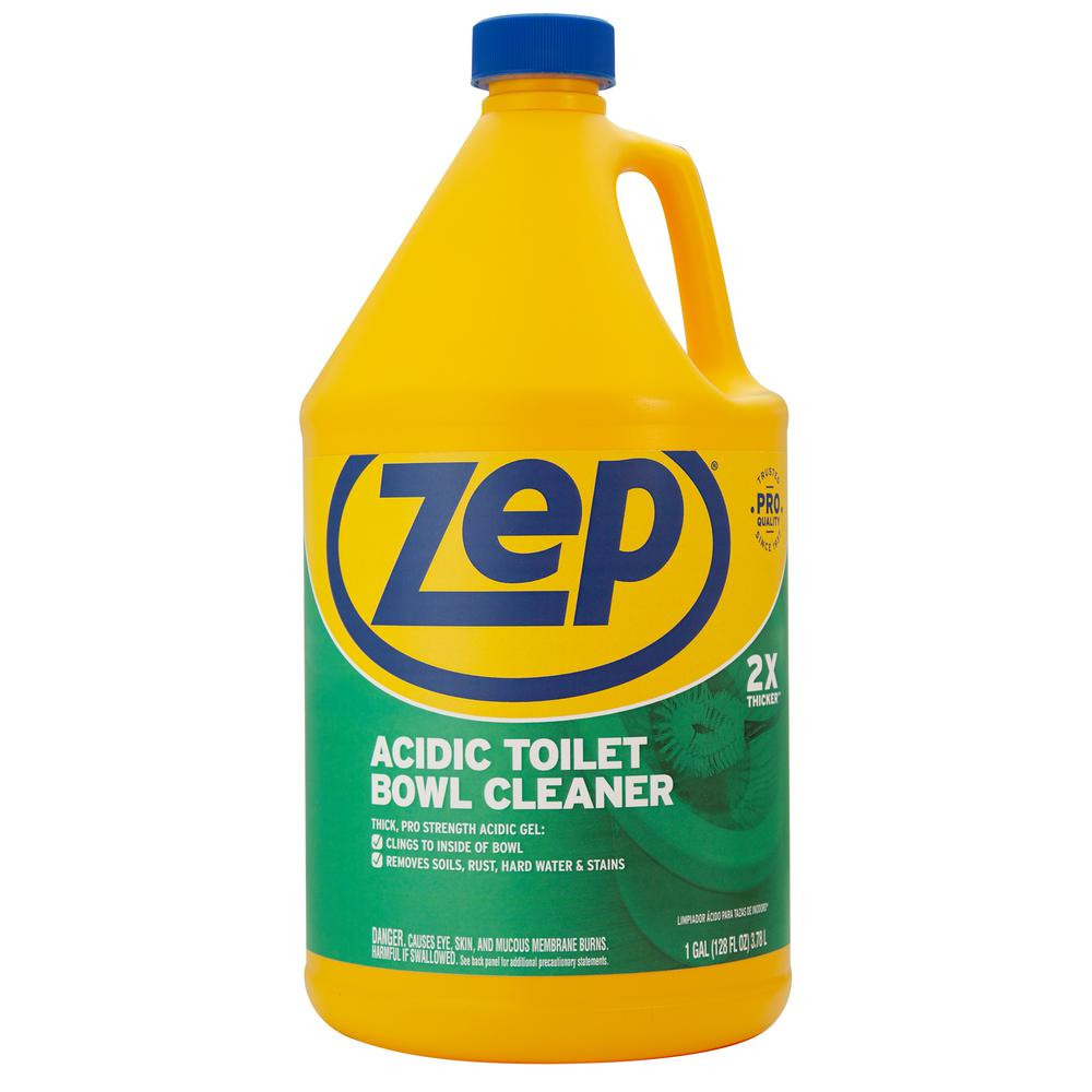 ZEP 128 oz. Acidic Toilet Bowl Cleaner-R43710 - The Home Depot