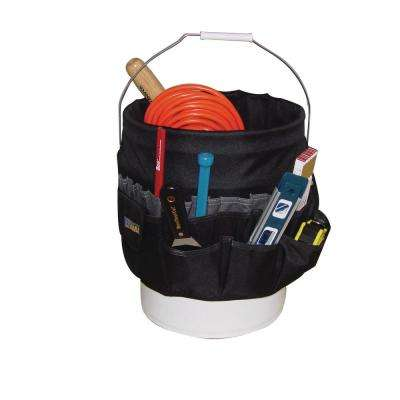 12 in. Mega Bucket Tool Bag for 5 Gallon Pail