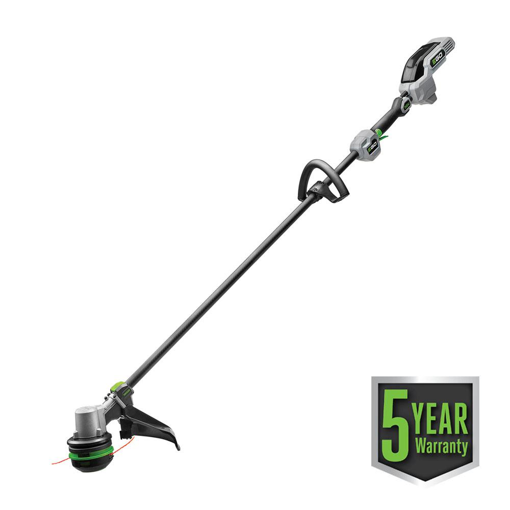 EGO 56V Lith-ion Cordless 15in. Powerload String Trimmer with Carbon Fiber Straight Shaft, Battery and Charger Not Included