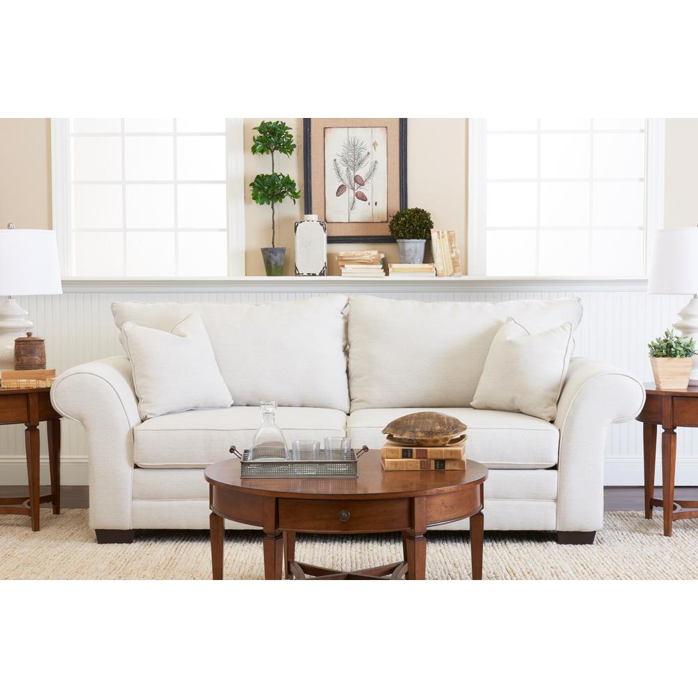 Klaussner Holly Beige Sofa-E76900SCMAXBUFF - The Home Depot