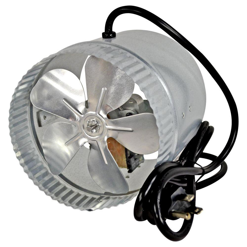 Suncourt 6 In Corded Duct Fan With More Powerful Motor