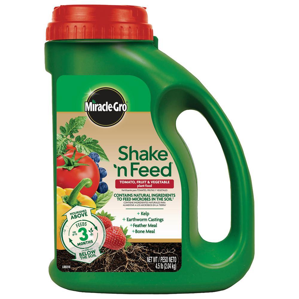 4.5 lb. Shake N' Feed Plus Calcium Plant Food