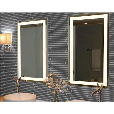 20 in. x 36 in. Rectangle Backlit LED Vanity Mirror