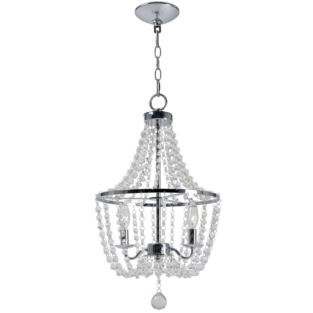 Kenroy home celeste 2 light chrome chandelier 93052ch the home depot kenroy home celeste 2 light chrome chandelier arubaitofo Image collections