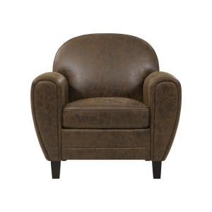 Sensational Monarch Specialties Dark Brown Kids Chair With Ottoman I Onthecornerstone Fun Painted Chair Ideas Images Onthecornerstoneorg