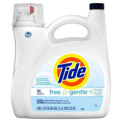 138 oz. Free and Gentle HE Liquid Laundry Detergent (96 Loads)
