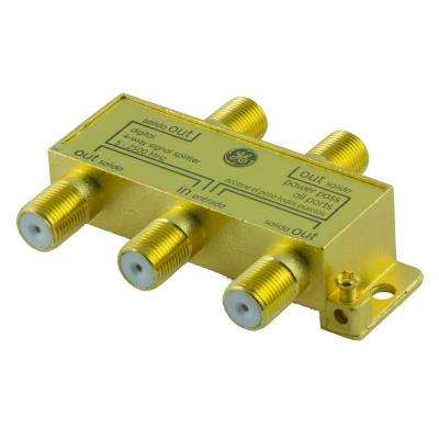 Pro Digital 4-Way Coaxial Splitter