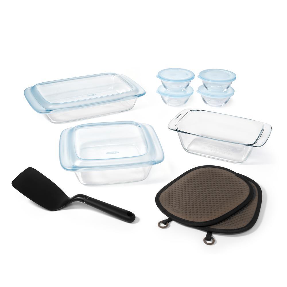 Good Grips 16-Piece Glass Bakeware Set