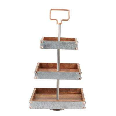 cake tiered stands serveware the home depot