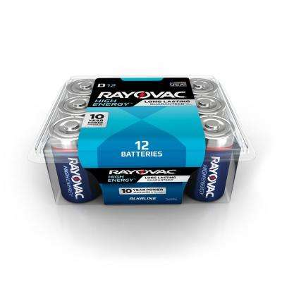 D 8-Pack Alkaline Batteries