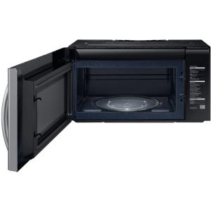 5 Samsung 2 1 Cu Ft Over The Range Grill Microwave With Sensor Cook In Stainless