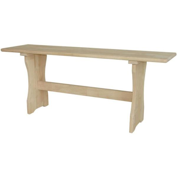 International Concepts Unfinished Bench Be 1: International Concepts Unfinished Bench BE-47