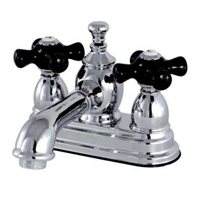 Duchess 4 in. Centerset 2-Handle Bathroom Faucet in Chrome
