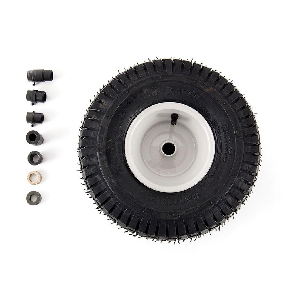 new 15 in lawn mower front wheel replacement tire riding smooth sturdy traction 689851939846 ebay. Black Bedroom Furniture Sets. Home Design Ideas