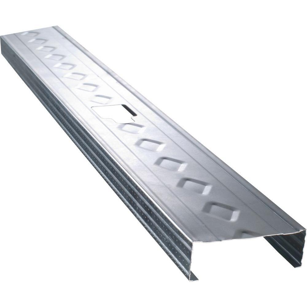 Western Metal Lath 3-5/8 in. x 10 ft. 20-Gauge Galvanized Steel Drywall Track