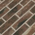 Capella Red Brick 2 in. x 10 in. Matte Porcelain Floor and Wall Tile (5.17 sq. ft. / case)