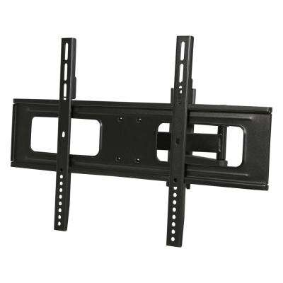 37 in. - 70 in. 110 lbs. LCD LED TV Wall Mount with 6 ft. 4K HDMI Cable, Black