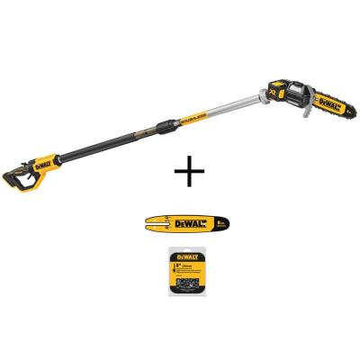 8 in. 20-Volt MAX Cordless Pole Chainsaw (Tool-Only) with 8 in. Pole Chainsaw Bar and 8 in. Chainsaw Chain (34 Link )