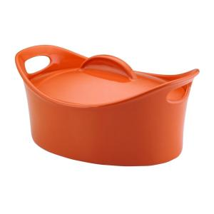 Rachael Ray Casseroval 4.25 Qt. Casserole Dish with Lid by Rachael Ray