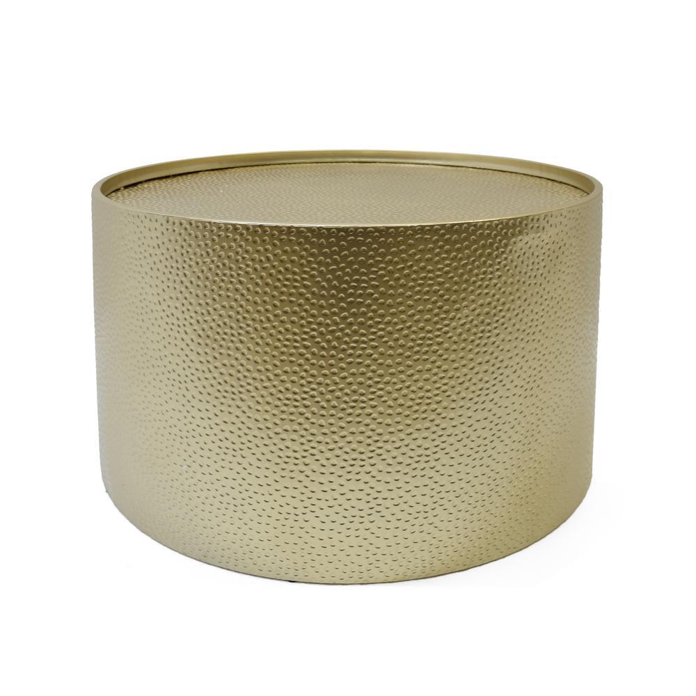 Braeburn Gold Round Coffee Table