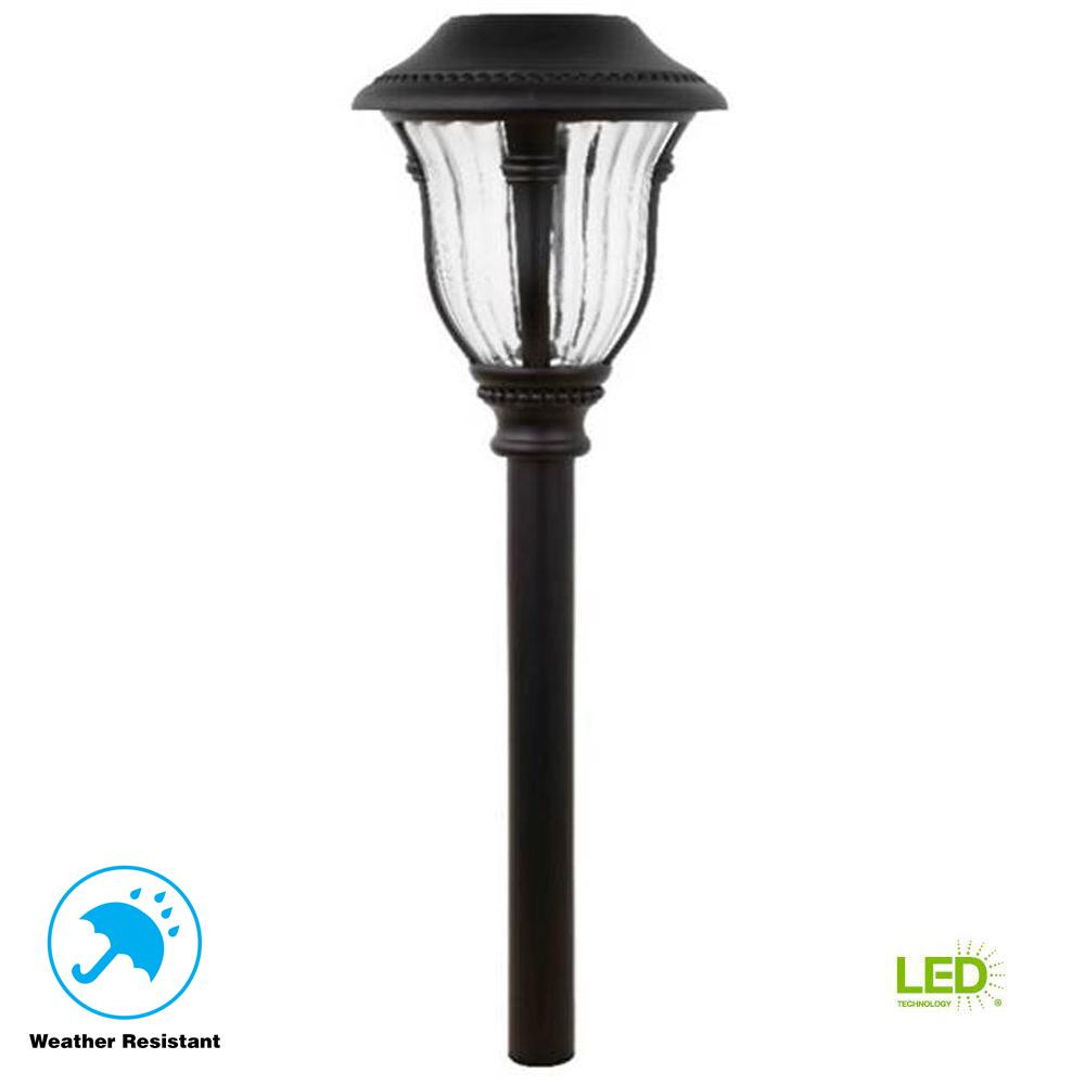 Motion Sensing Path Lights Landscape Lighting The Home Depot Lightings 6 Wiring Sensor Design Inspiration Open Stock Solar Bronze Outdoor Integrated Led Light With