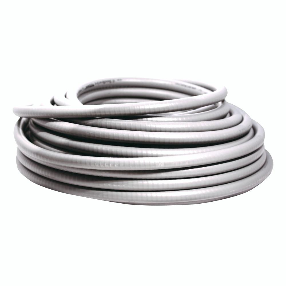 Southwire 1 In X 50 Ft Ultratite Liquidtight Flexible Non Metallic Pvc Conduit 55094402 The Home Depot